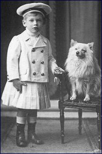 Me, around 1904/5. What an outfit!