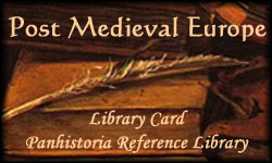 Post Medieval Europe