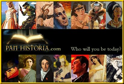 www.panhistoria.com who will you be today?