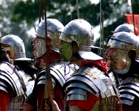 I Cohorts getting ready for battle